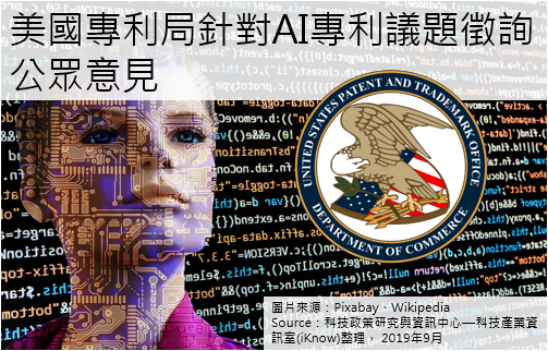 美國專利局:規範AI專利申請提12大問題